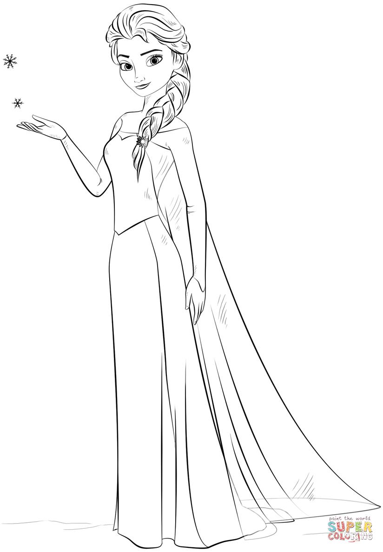 Pin Von Magdalena Nocun Auf Pinata Olaf Malvorlage Prinzessin Elsa Ausmalbild Disney Farben