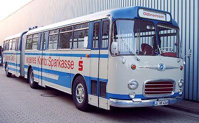 1965 Setra Sg 175 Kassbohrer Ulm Germany Bus Ulm
