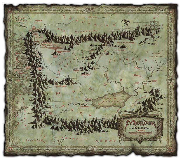 artxnejtx The Lord Of The Rings Maps Real Fictional Maps