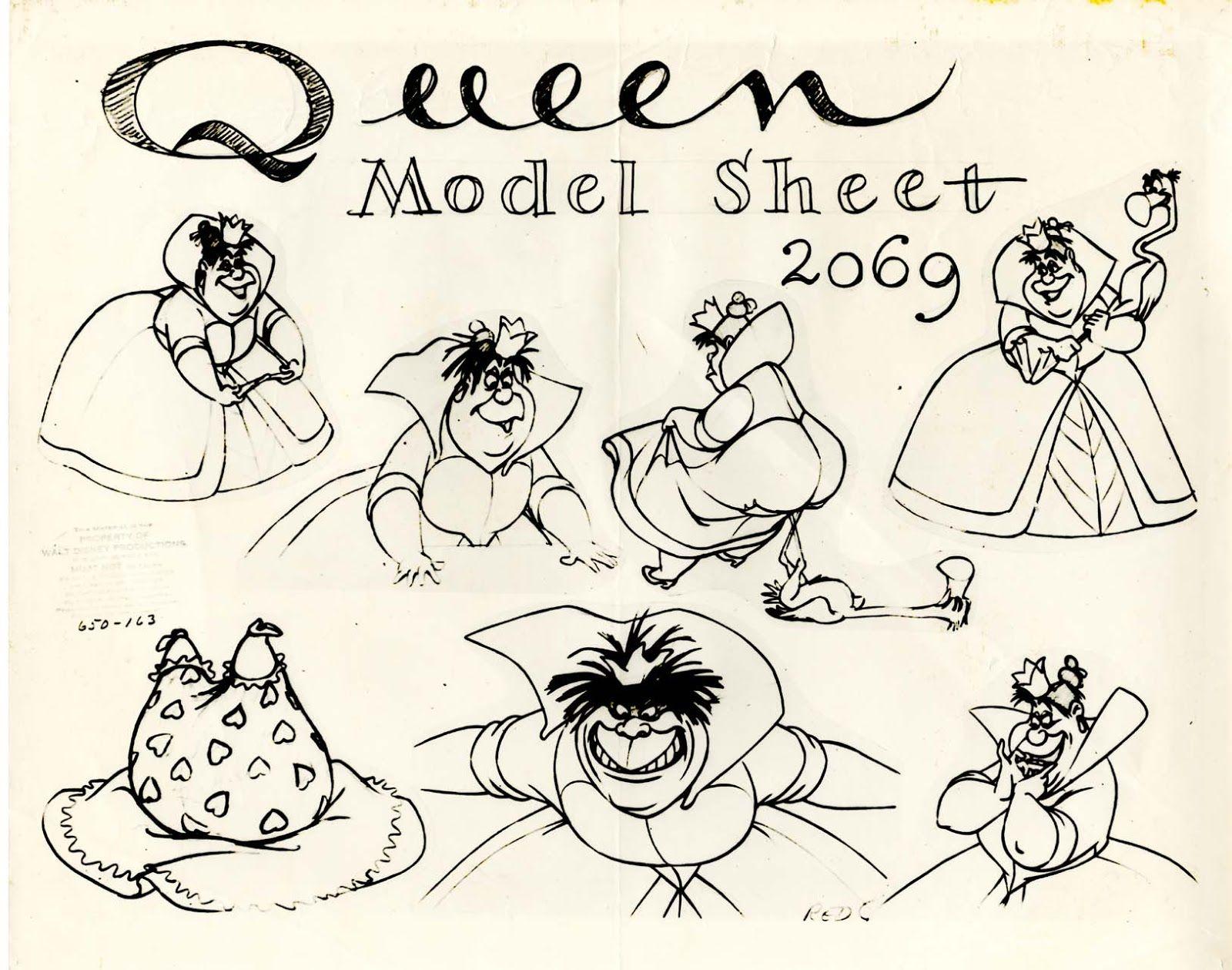 Queen Of Hearts Concept Art