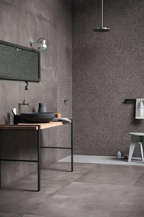 Mooie grijze badkamer. - Badkamers (bathrooms) | Pinterest ...