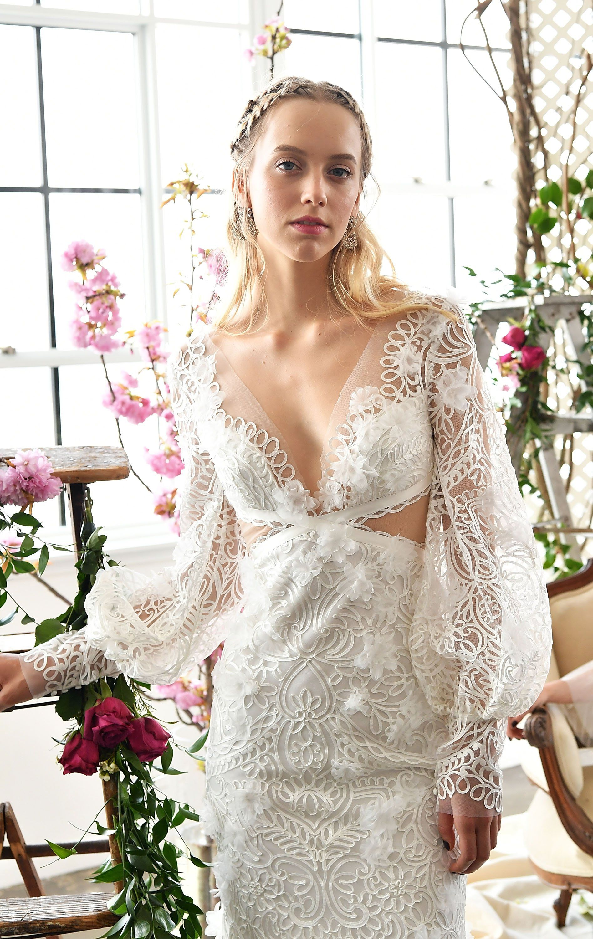 bridal trends youull see everywhere next spring spring marchesa
