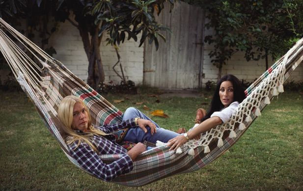 a hammock of love  allman and cher in beverly hills in 1977  a year a hammock of love  allman and cher in beverly hills in 1977  a      rh   pinterest