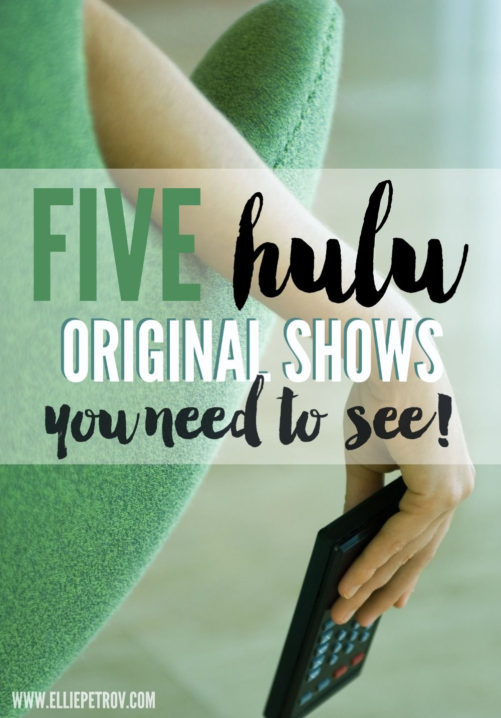 5 HULU original shows that you will love love love! You will never miss  cable