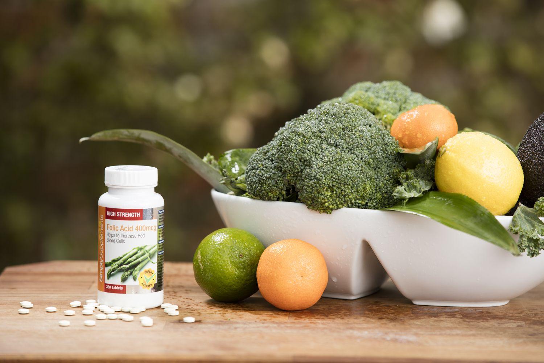90117e0e31f0 L acide folique favorise la santé générale et est une vitamine essentielle  pendant la grossesse