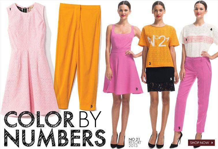 Color By Numbers | Moda Operandi