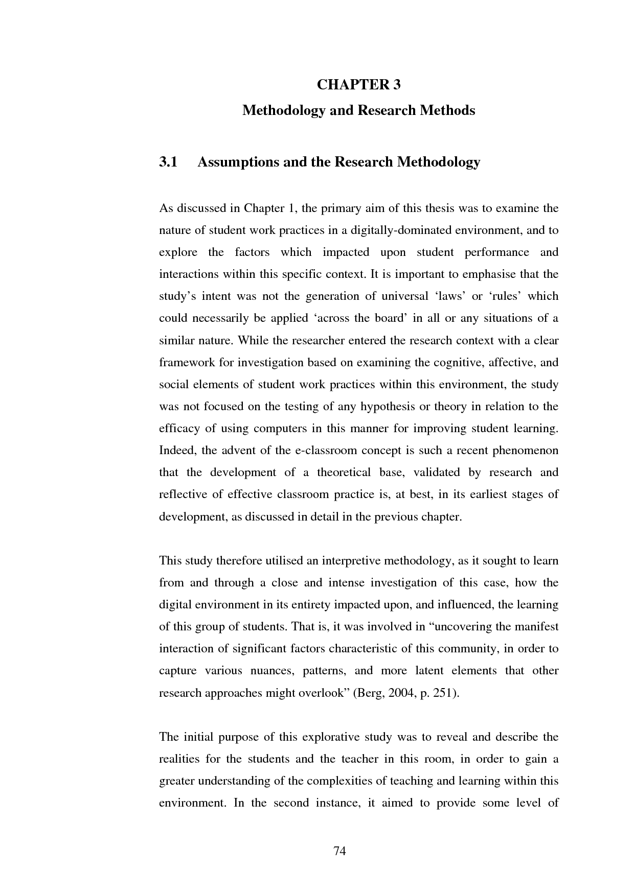 example of statistical research paper