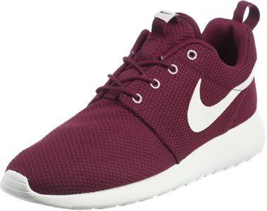 Nike Roshe Run schoenen bordeaux rood
