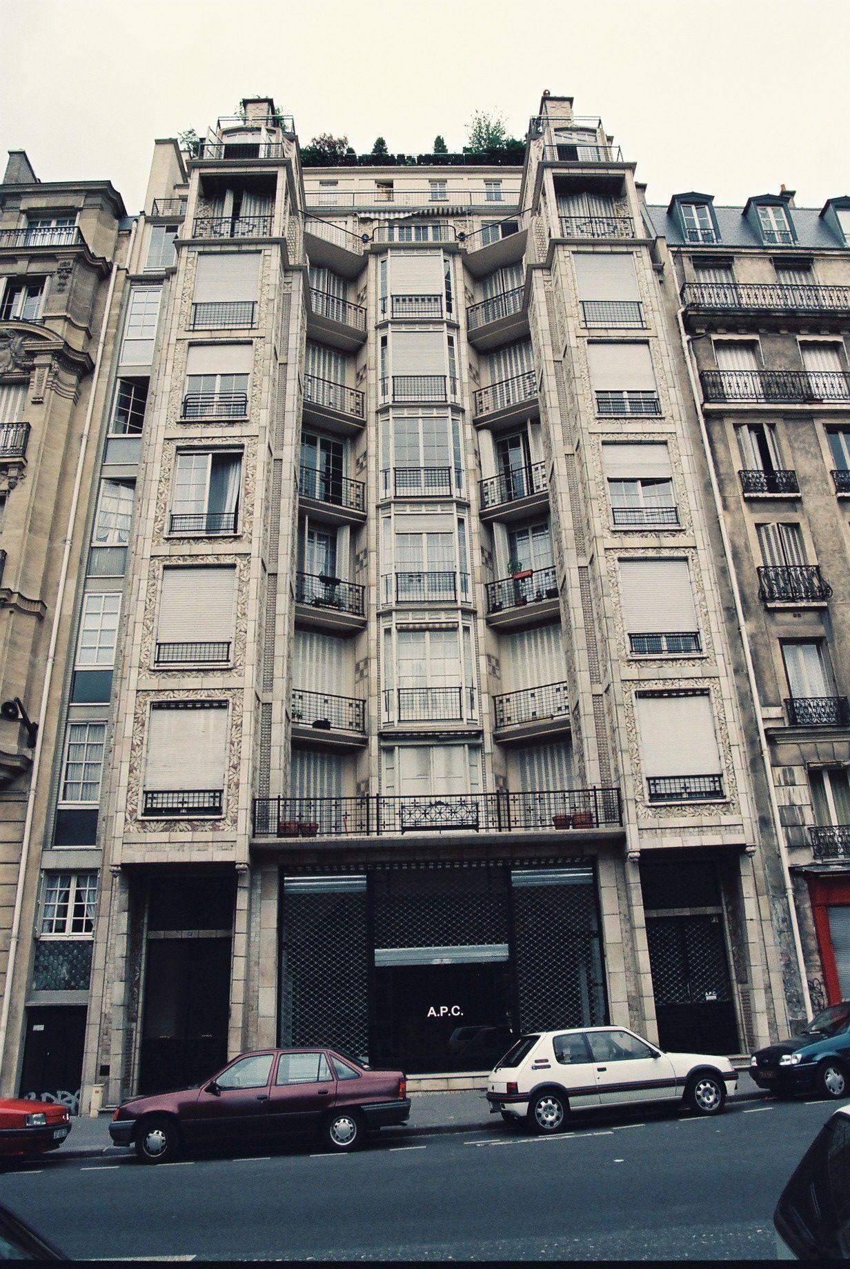 Auguste Perret,rue Franklin Apartments,paris Built In