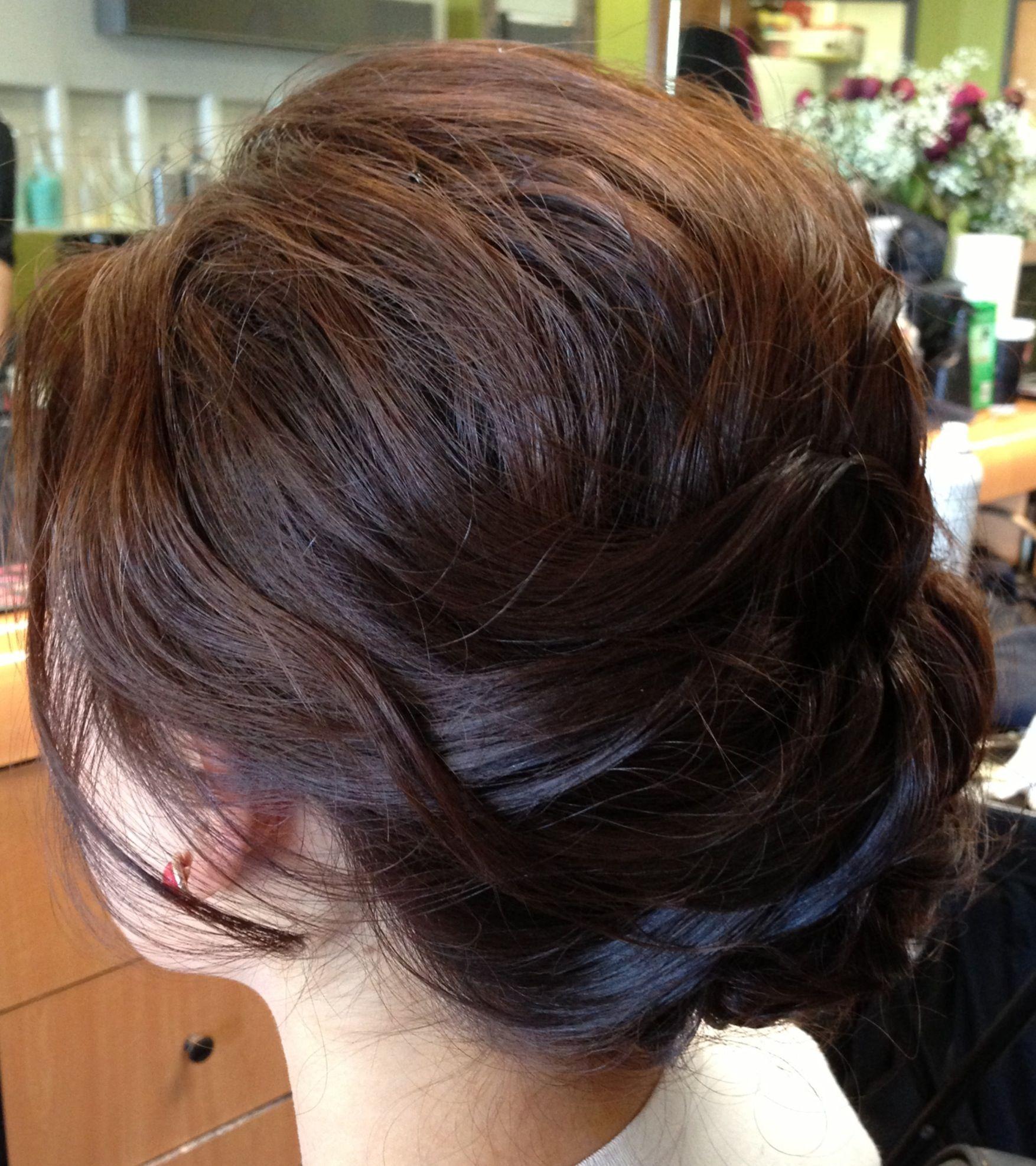Wedding Updo Wedding Hair Updo Textured Updo Chignon Braids