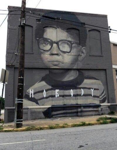 Axel Void New Mural In Atlanta, USA
