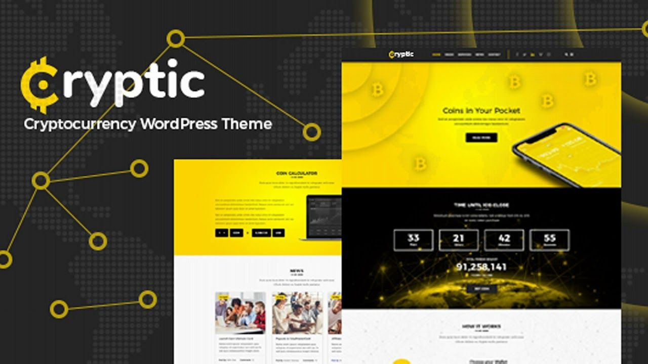 Best Cryptocurrency WordPress Themes 2018 MonchThemes