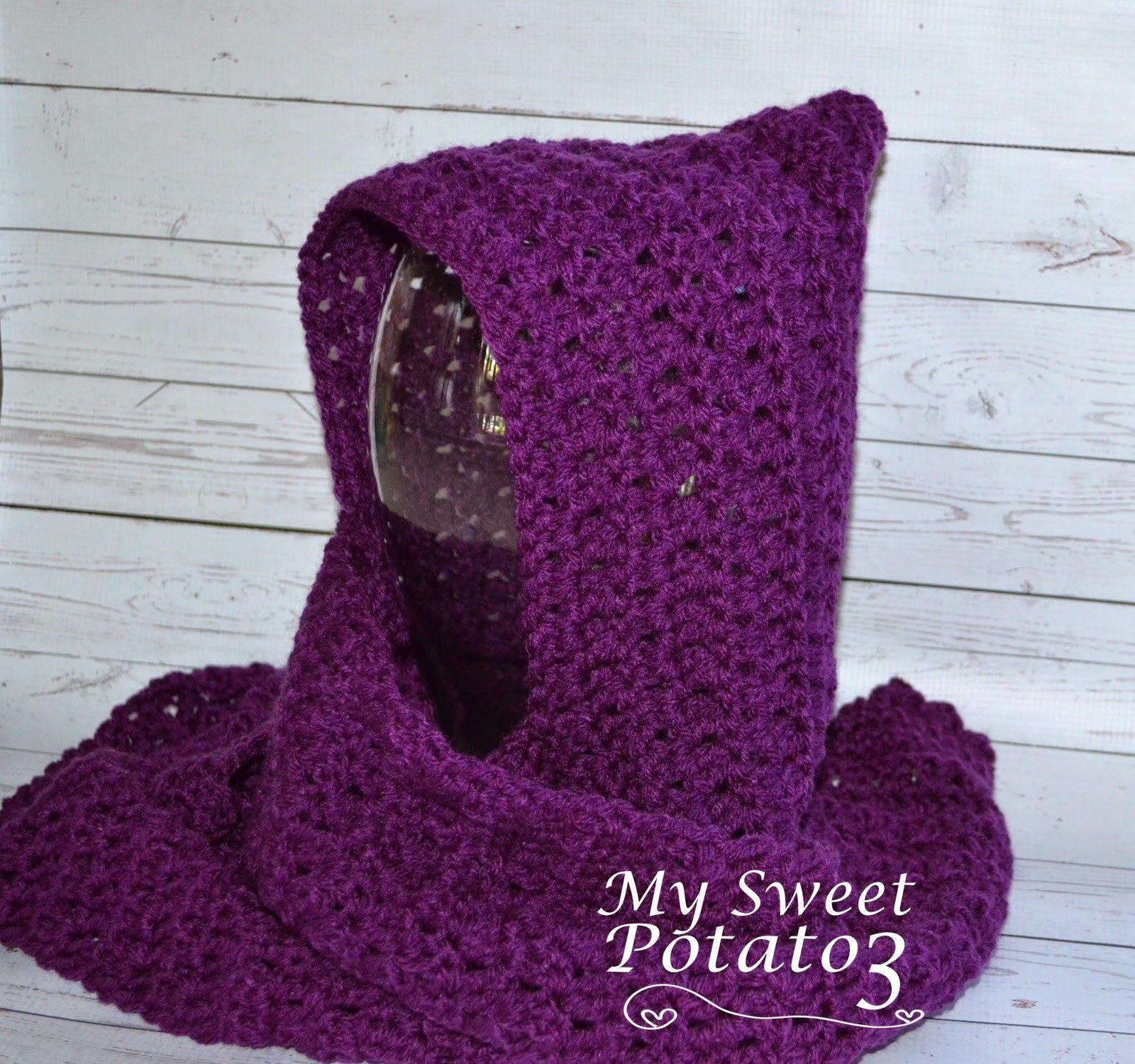 My Sweet Potato 3: Wrap Me Tender Hooded Scarf / Scoodie / Hoodie ...