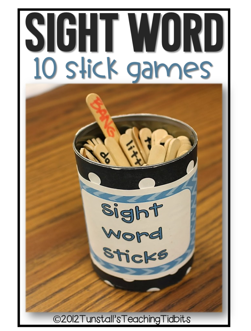 Making sight words stick spelling words word games and kindergarten