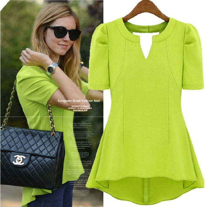 Cheap Blouse Chiffon Buy Quality Blouse Silk Directly From China