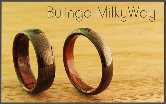 MilkyWay with Bubinga wood inlay. Carbon fiber ring. 1 by CotoShop