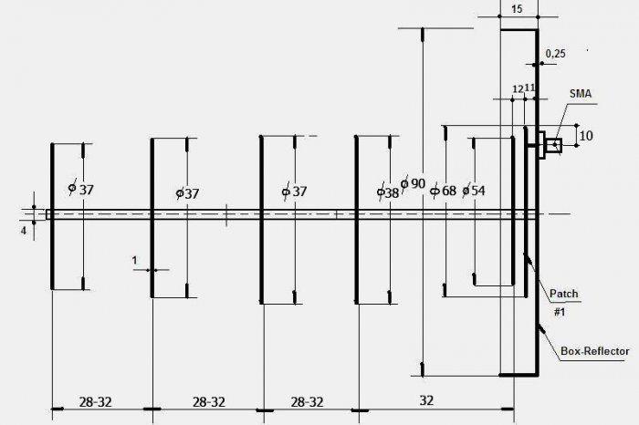 wi fi pinterest wifi guns and diy rh pinterest com wifi antenna booster circuit diagram wifi antenna wiring diagram