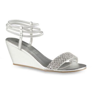 bridesmaid shoes   Wedge wedding shoes