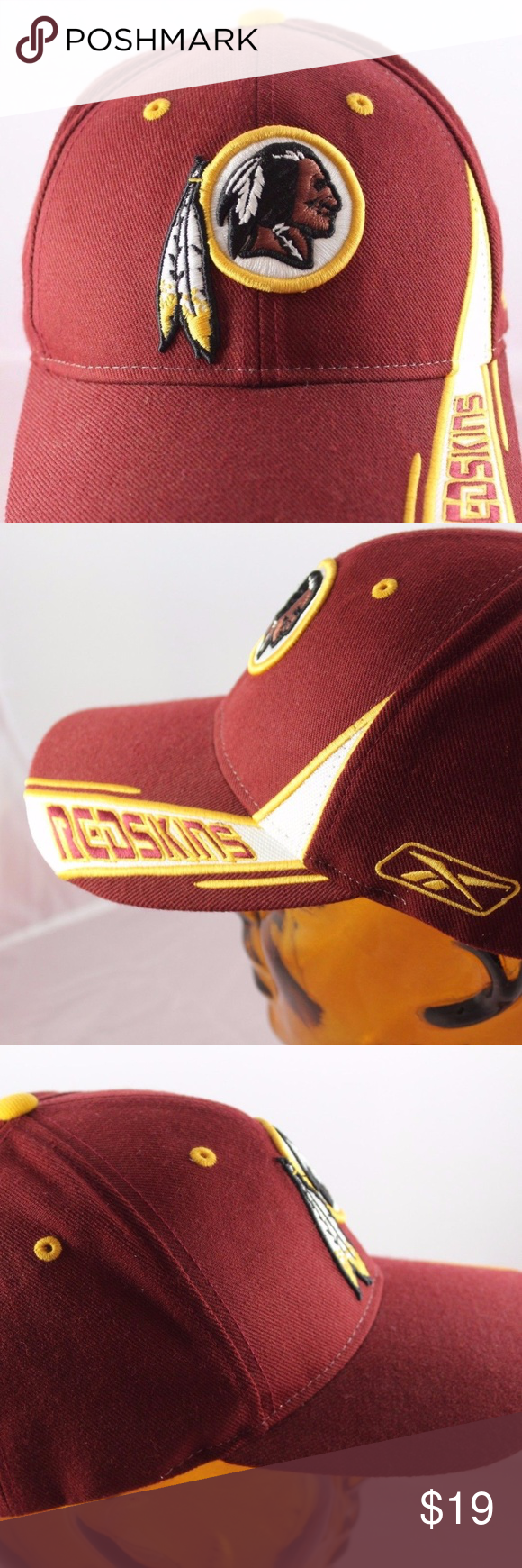 ef4f5a0f5 NFL-Washington-Redskins-Adjustable-Cap-Hat- This is a gently used ...