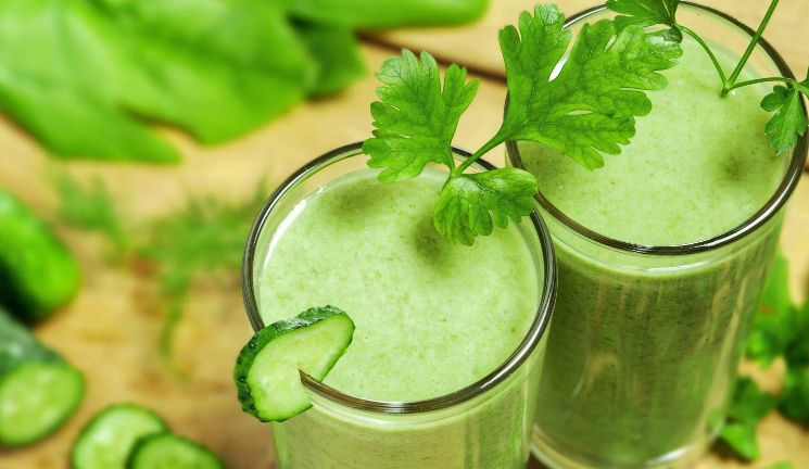 green-cocktails