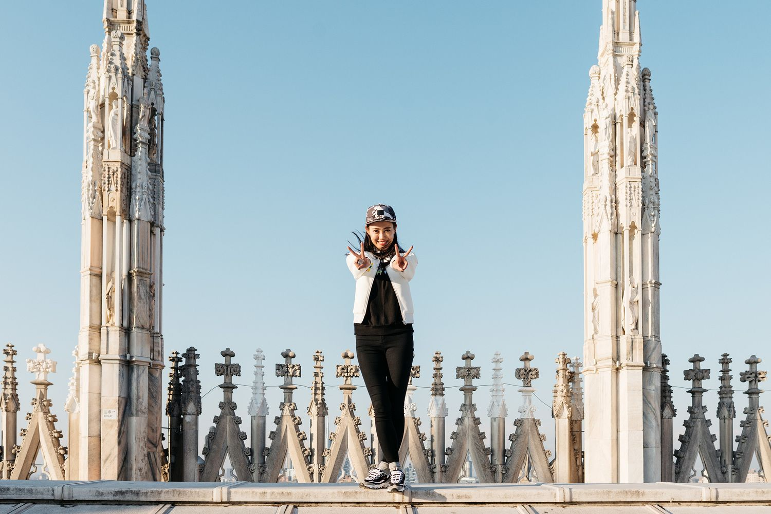 On top of Duomo - Milan thelocals.dk March 2015
