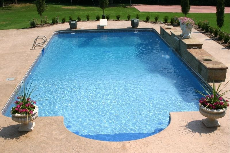 Water Feature Photos Fort Smith Springdale Nw Arkansas Sheer Descent Water Features Pool Pool Shapes Water Features