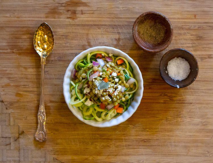 Citrus Vinegar Lentil Salad — Abigail Dorothy Jones