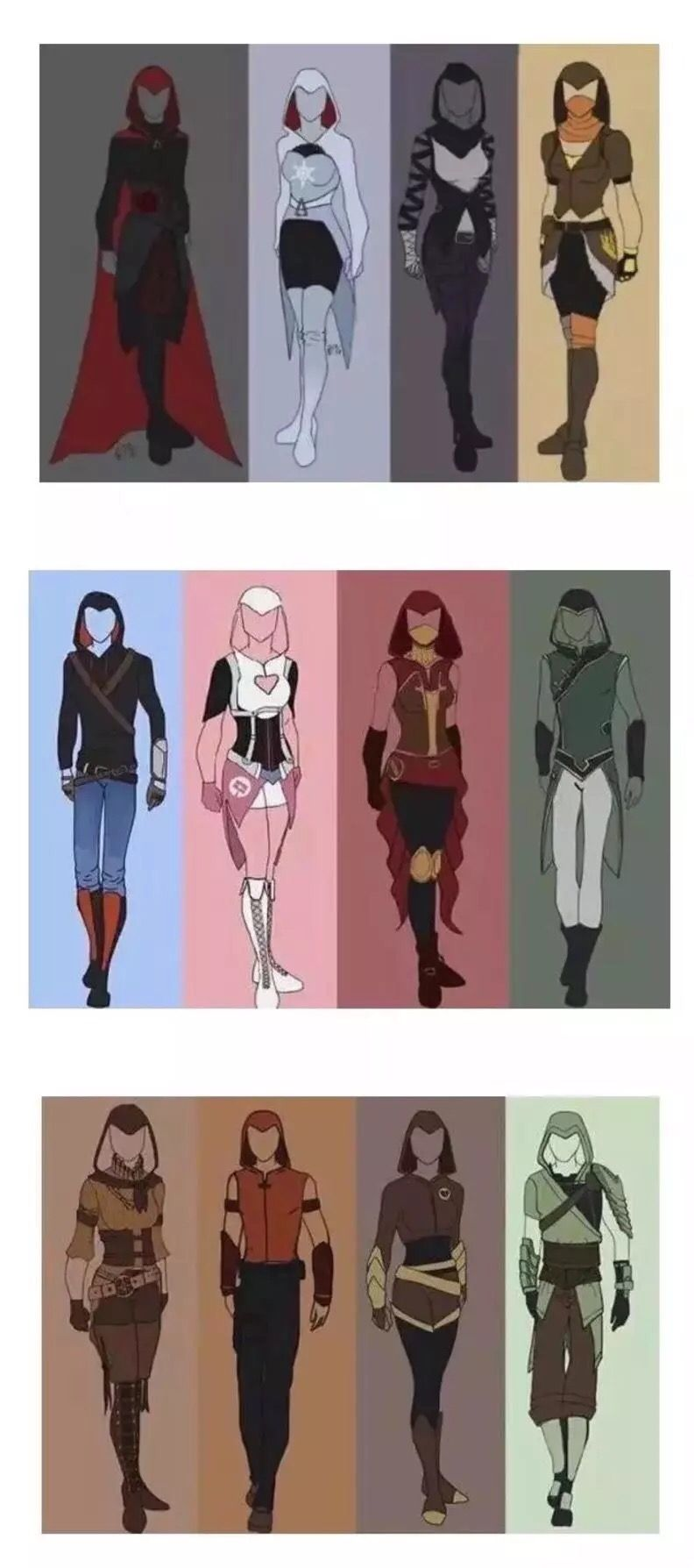 Rwby Assassin S Creed Style Rwby Characters Rwby Anime