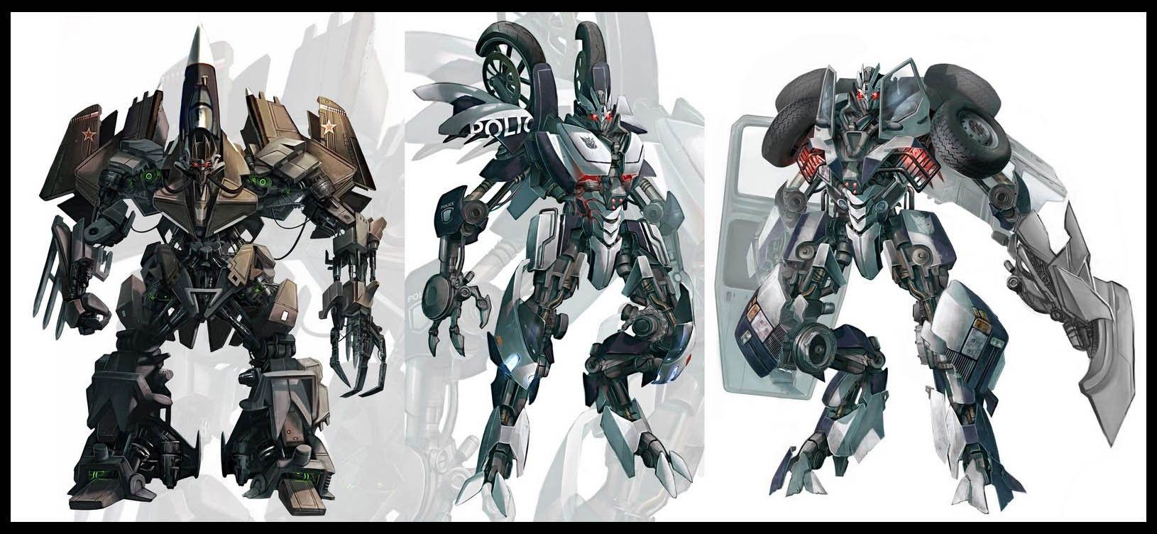 Original Decepticon Concept Designs Concept Art