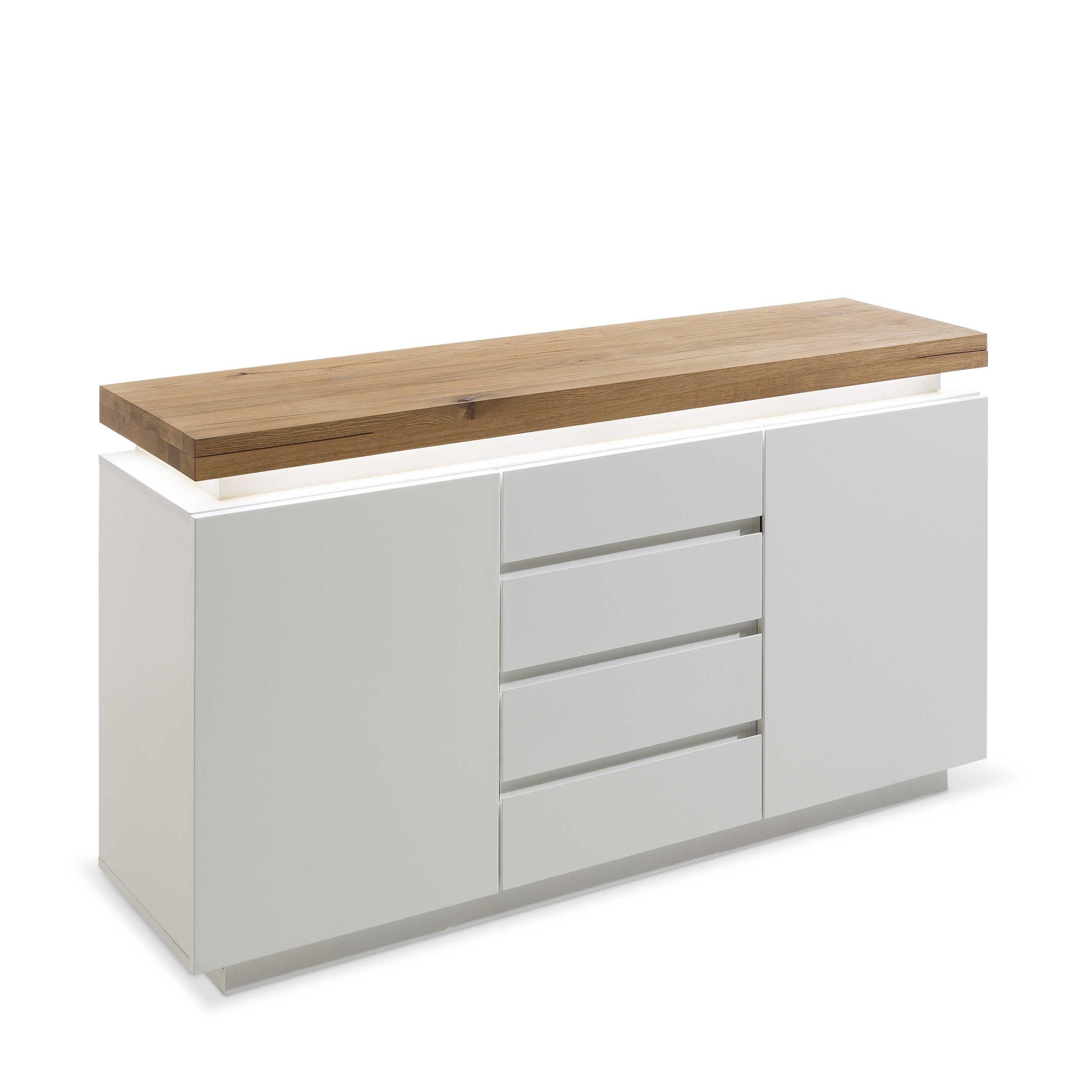 Blickfang Kommode Weiß Holz Foto Von Pale Weiß Neutural Kaufen Bei Woonio