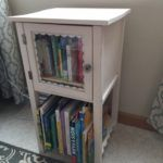 Cute side table- Goodwill furniture tips