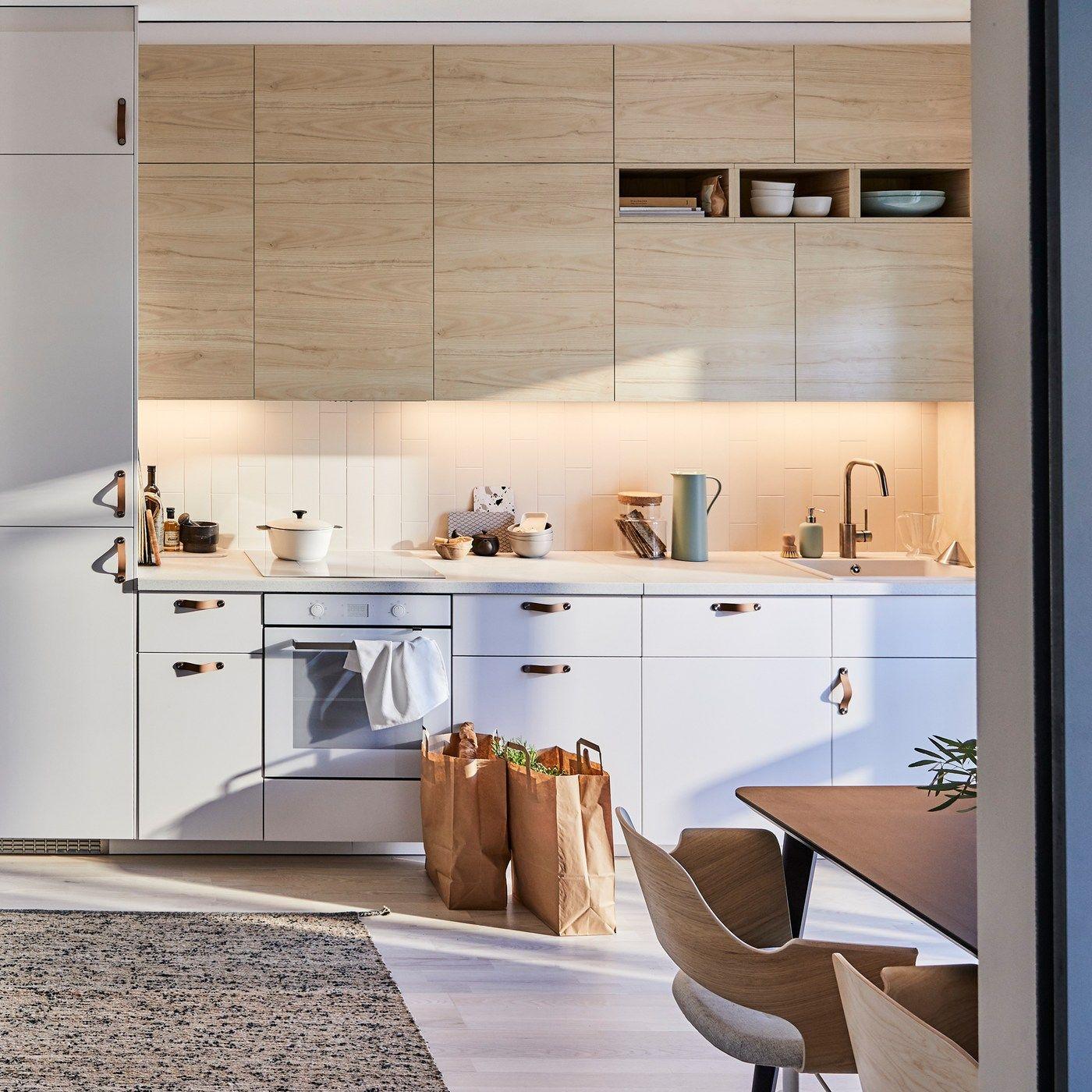 Eine Kuche Fur Stressfreies Kochen Zen Kitchen Ikea Metod Kitchen Kitchen Inspirations