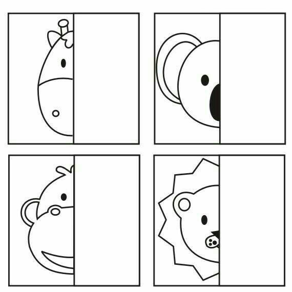 animal mirror image drawing teach art worksheets drawing for kids symmetry art. Black Bedroom Furniture Sets. Home Design Ideas