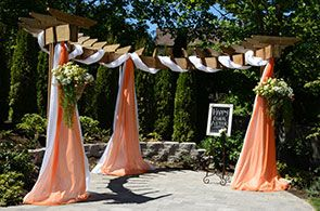 Weddings on the Hill  THE BEST PART: You can bring your own caterer, musicians, coordinator and since it's a newer venue it's super affordable but will wow guests!!  West Linn, OR Affordable Elegant Wedding Venue – 10 Miles South of Portland, Oregon Metro Area