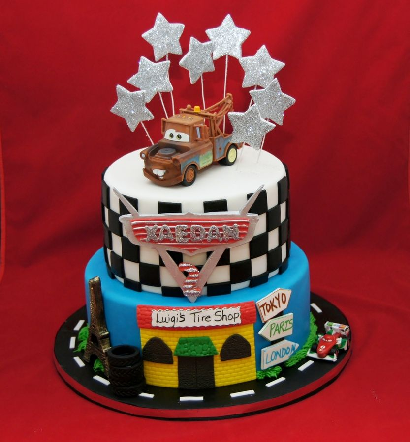 Wwwcarsbirthdaycakescom Cars  Themed Cake  Childrens - Birthday cake cars 2