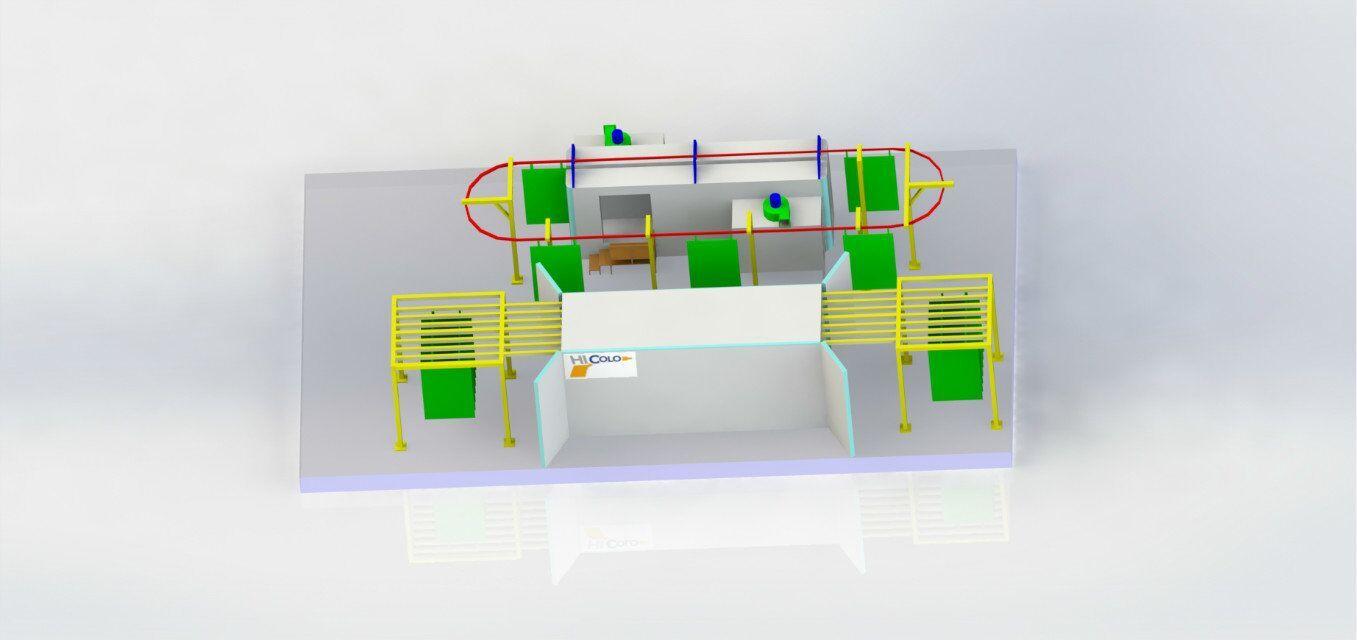 Powder Coating Conveyor Systems in 2020 Powder coating