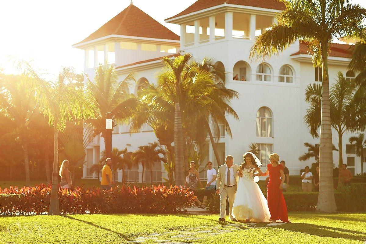 Beach Wedding Ceremony Oahu: Playa Del Carmen Wedding At Riu Palace Mexico