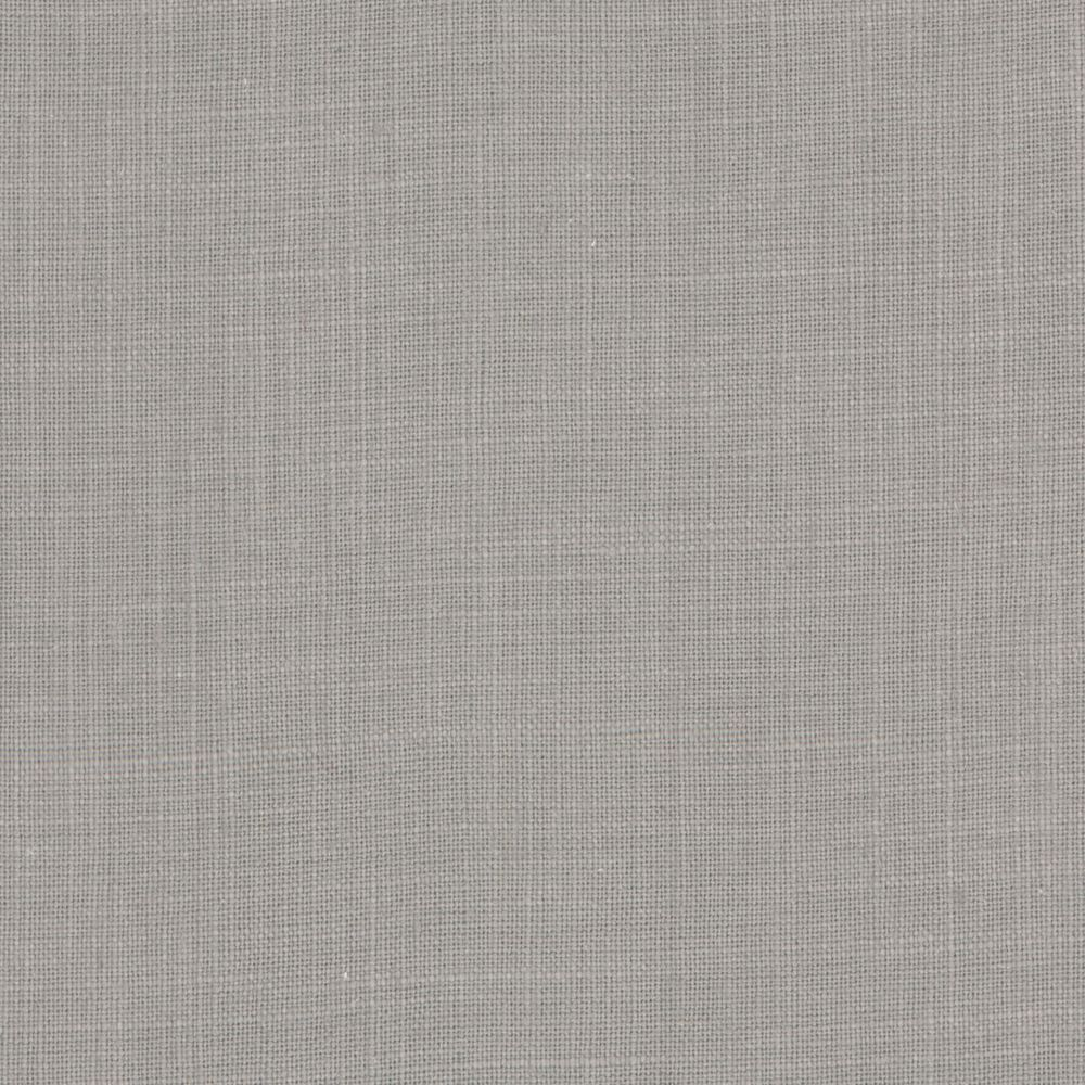 Slate Gray Fine Woven Linen Blend Fabric