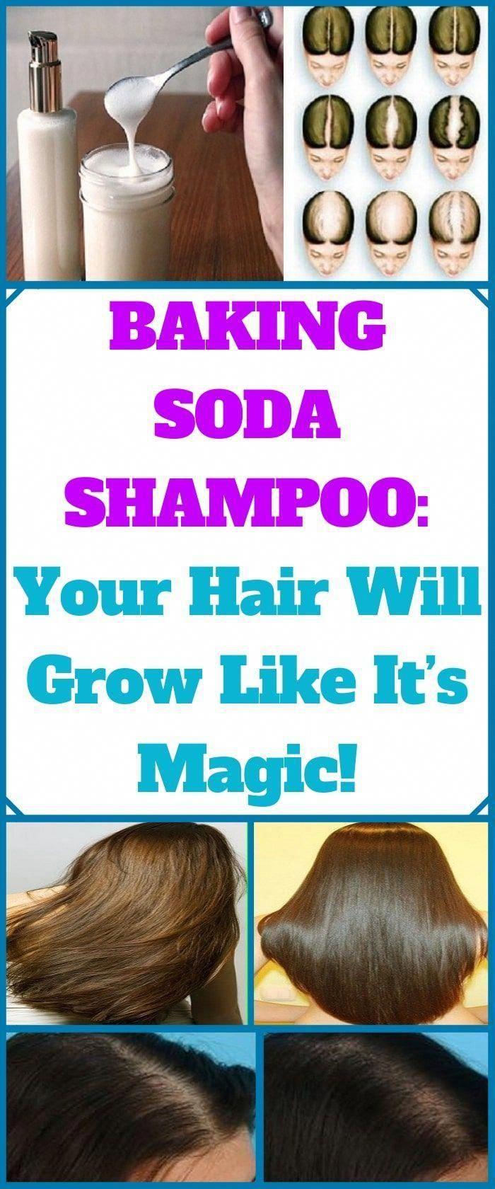 Baking Soda Shampoo It Will Make Your Hair Develop Like It