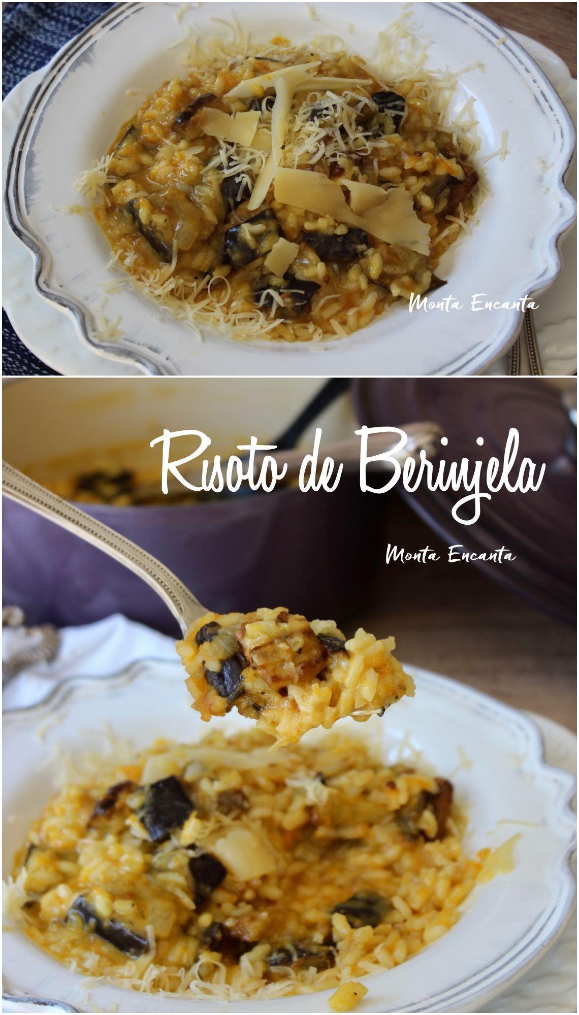 Risoto De Berinjela Para La De Delicioso Receitas Risoto E