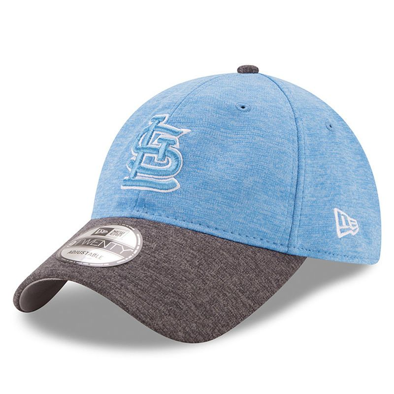 finest selection 78dbf 7f01c St. Louis Cardinals New Era 2017 Father s Day 9TWENTY Adjustable Hat -  Heather Blue