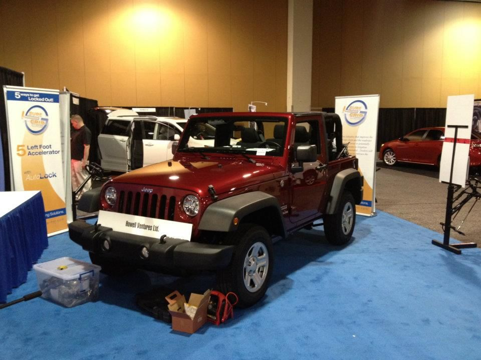 Howell Ventures Ltd Jeep Wrangler Sport Nmeda Conversion Vans For Sale Accessible Vehicles Wheelchair Accessible Vehicle