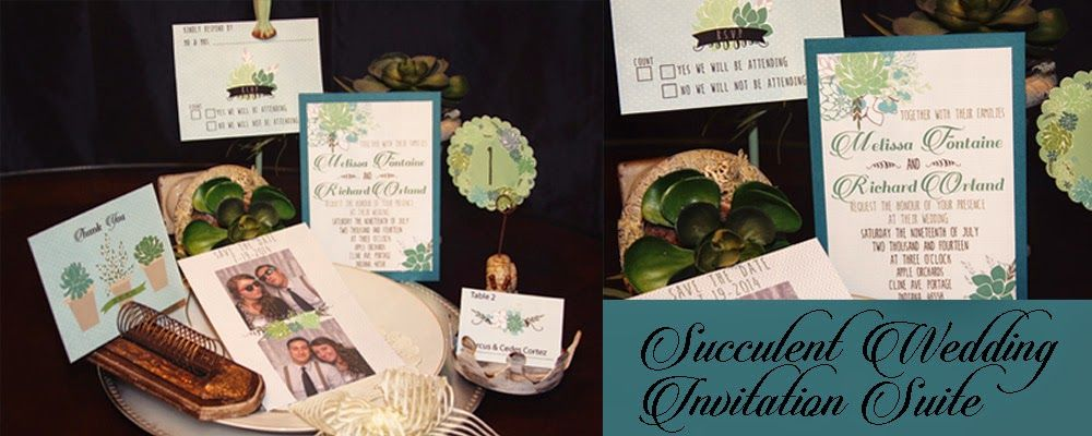 Succulent Wedding Invitation Suite Free Download Wedding - free invitation download