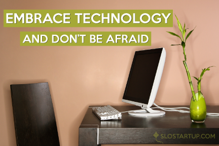 Technology can feel overwhelming. But it's essential to make peace with it if you own a business. The benefits of finding the right products, apps, and processes are HUGE. You can do more every day, reach and impact more people, and save major time. That's time you can spend on your business, or with your family. #Technology #BusinessGrowth