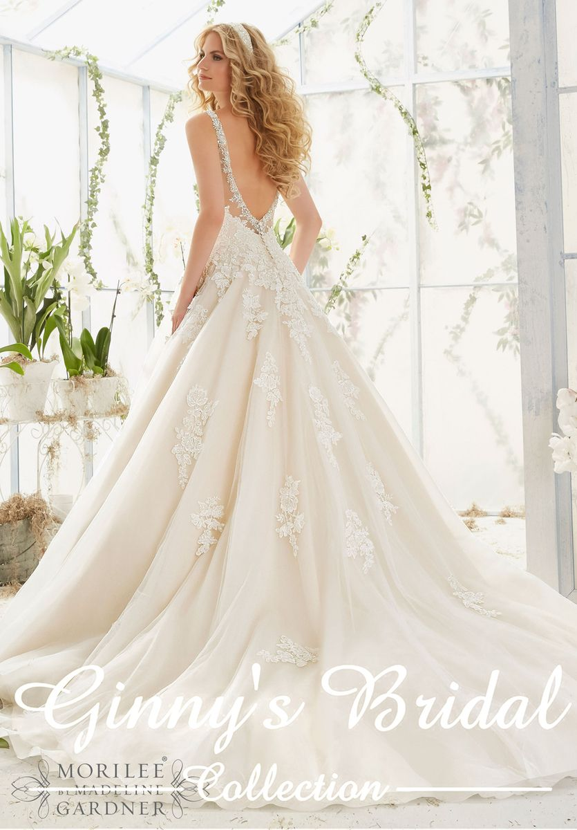 Mori lee madeline gardner wedding dress  Mori Lee Bridal Wedding Dress  in   OMG   Pinterest