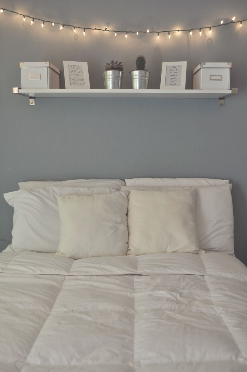 White instead of blue and into my bedroom Спальня pinterest