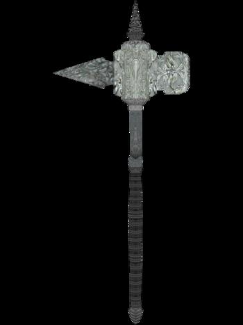 Silver Warhammer Oblivion Warhammer Oblivion Weapon Concept Art