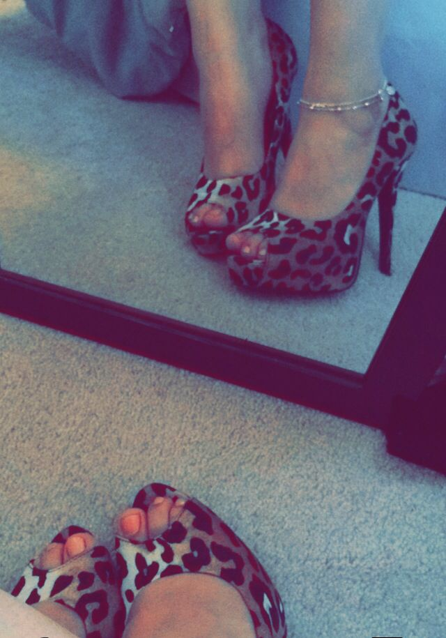 Love!!! Cheetah heels #shoes