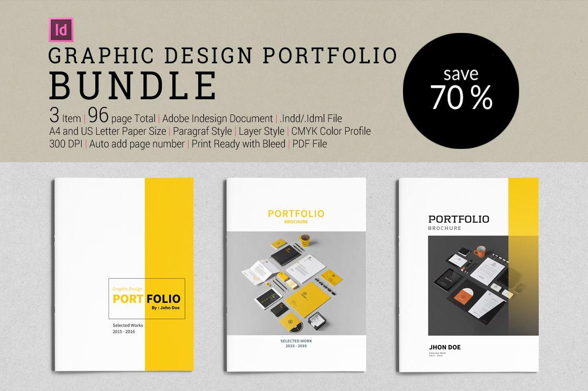 Bundle Graphic Design Portfolio By Tujuhbenua On Creativemarket
