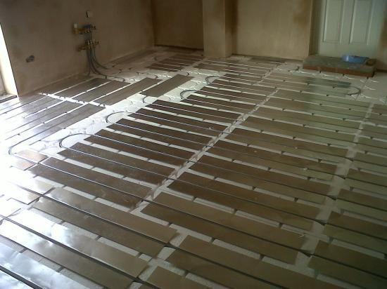Underfloor Heating In Garage Conversion